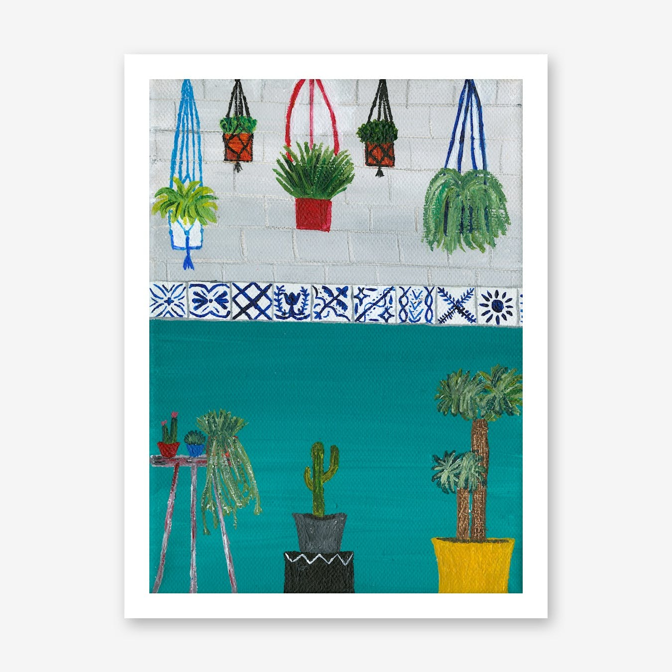 Hanging Out Print