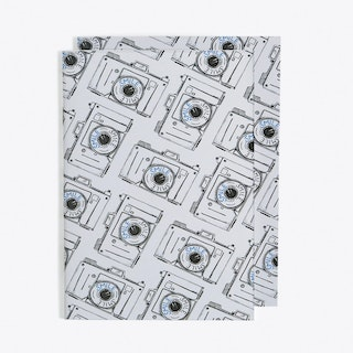 Smile Camera Notebook in A5 (Set of 2)