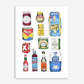 Store Cupboard Art Print
