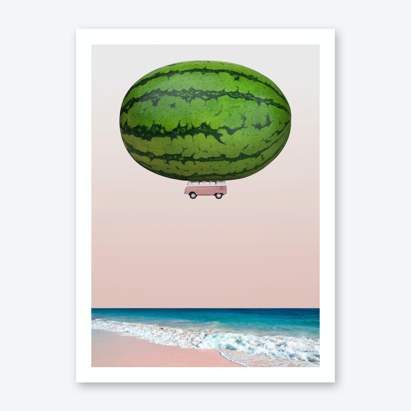 Melon Ship Art Print