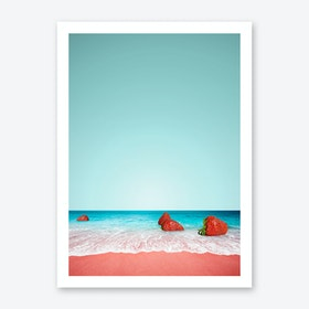 Strawberry Shore Art Print