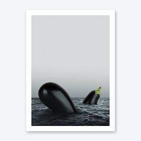 Dark and Stormy Art Print