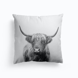 Highland Bull Cushion
