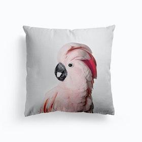 Pink Cockatoo Cushion