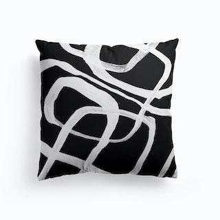 White Lines Cushion