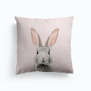 Bunny In Blush Cushion