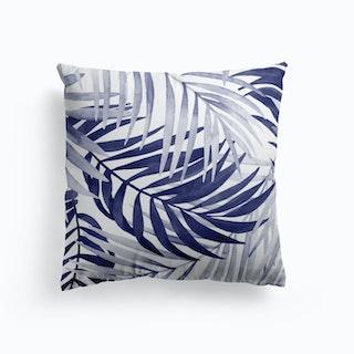 Blue Tropical Cushion
