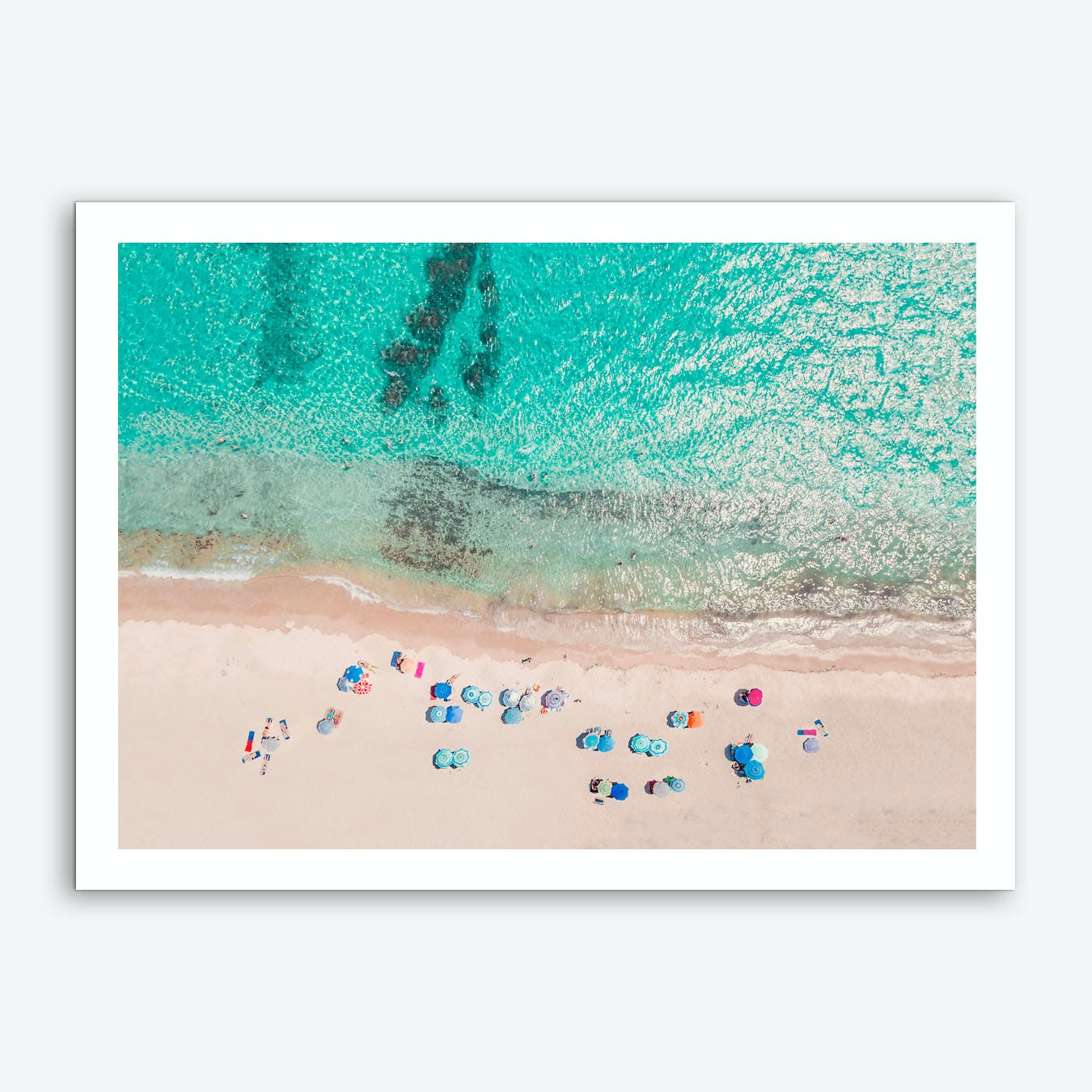 Beach Time Art Print