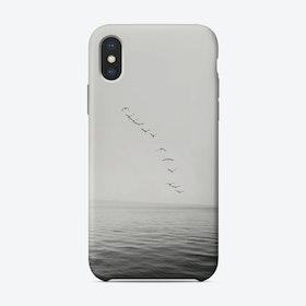 Birds And Ocean iPhone Case