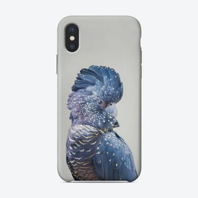 Black Cockatoo iPhone Case