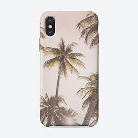 Blush Pink Sky iPhone Case