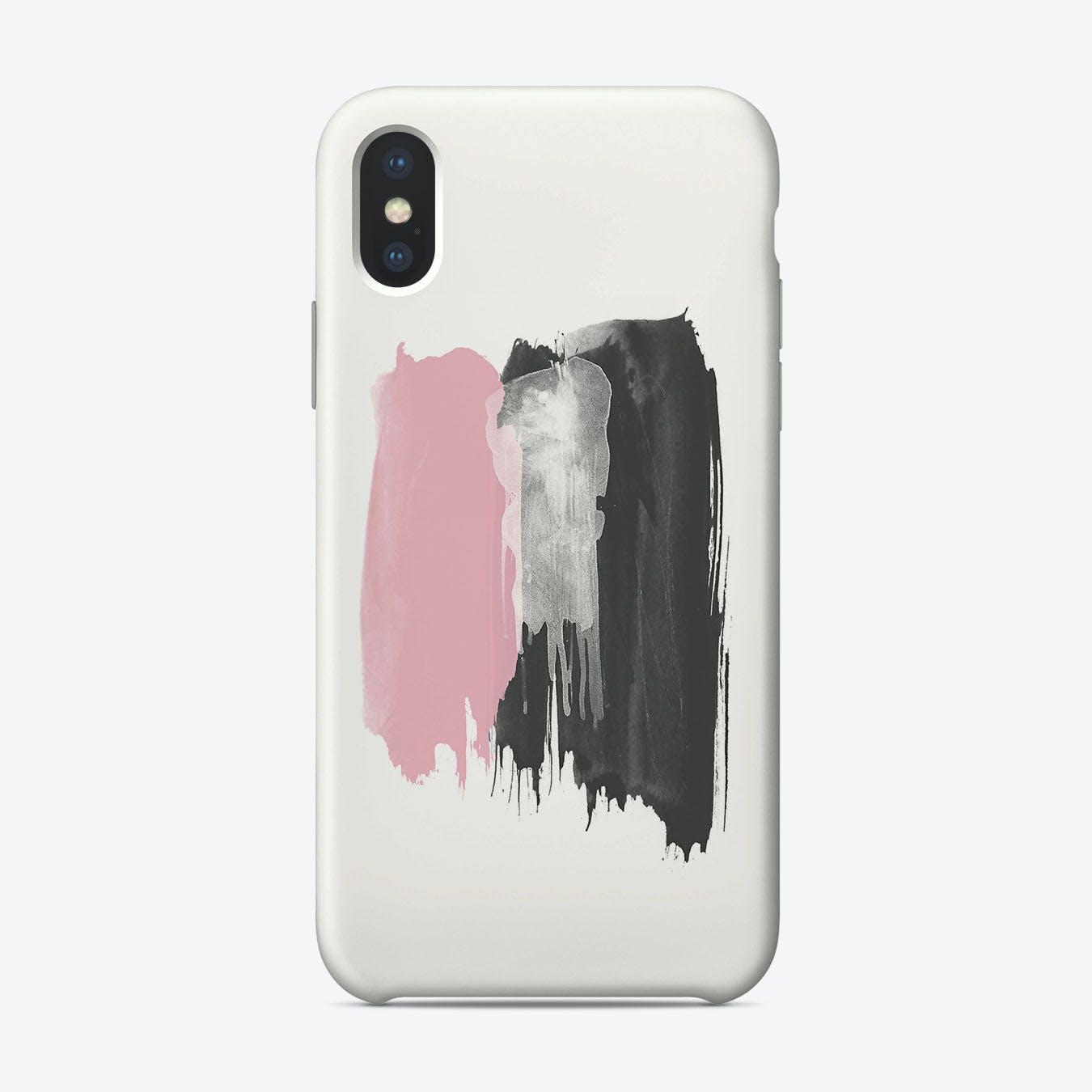Brush Strokes iPhone Case