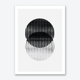 Geo Circles Art Print