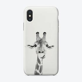 Happy Giraffe iPhone Case