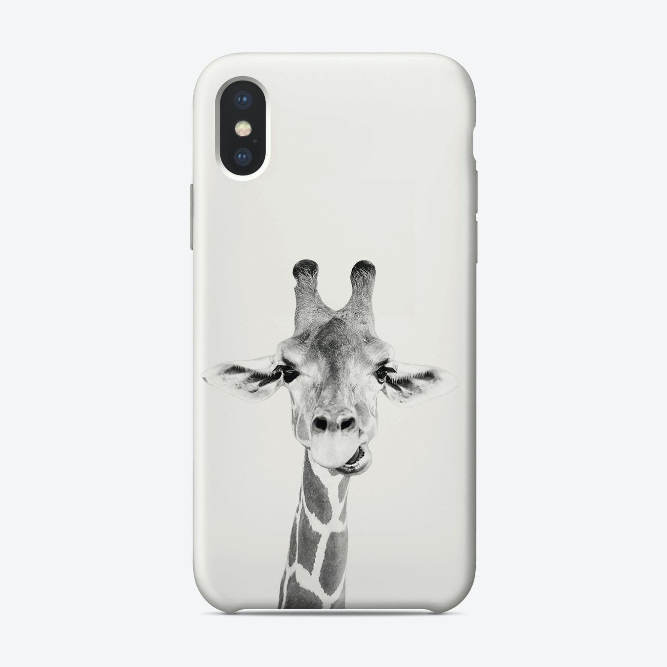 Happy Giraffe iPhone Case