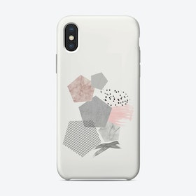 Marble Geo iPhone Case