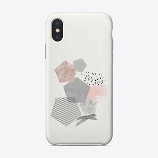 Marble Geo iPhone Case