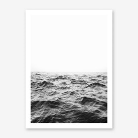 Minimalist Ocean Art Print