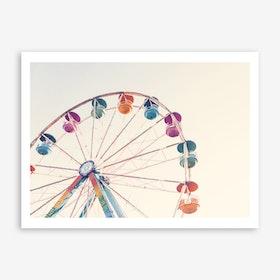 Fairies Wheel Art Print