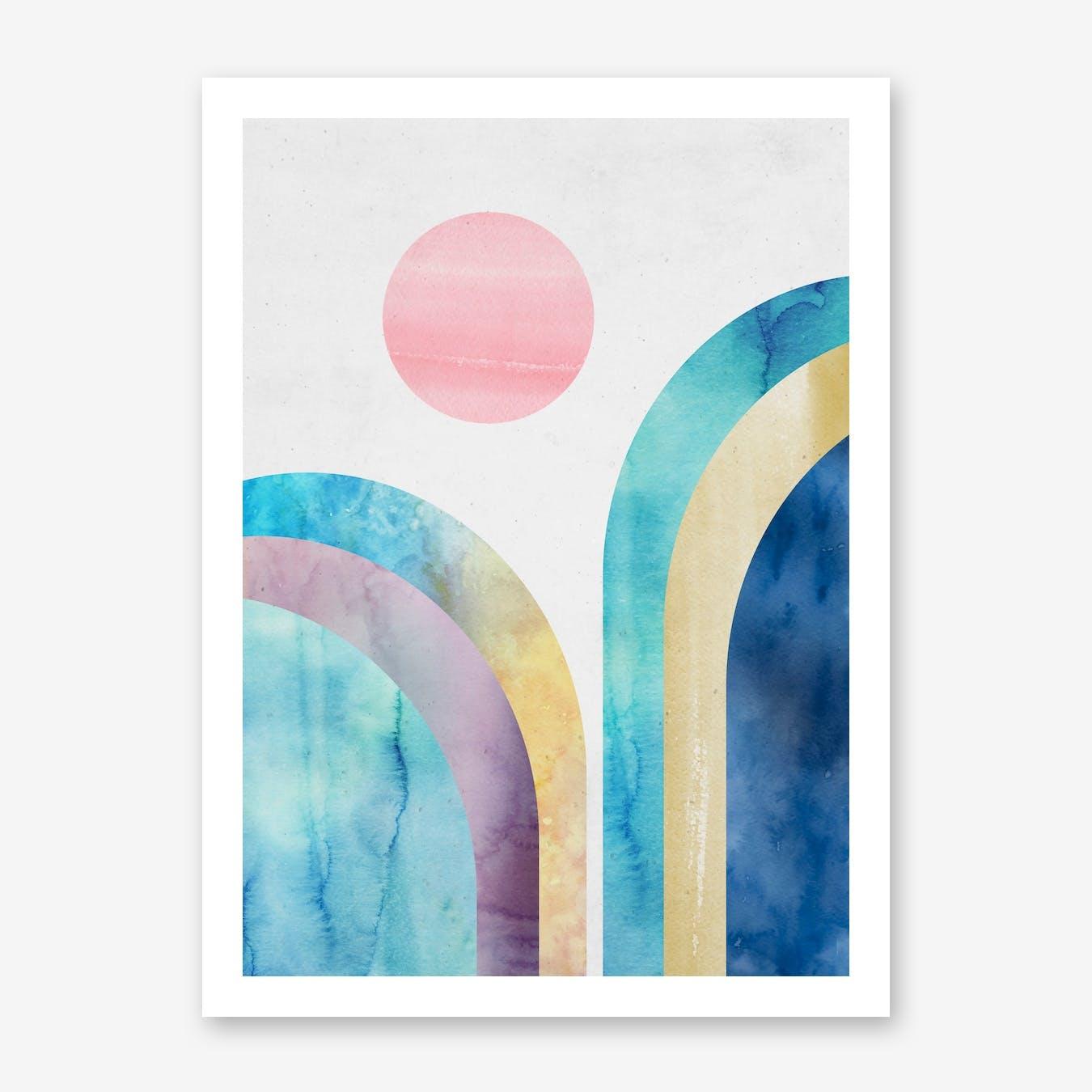 Graphic Print I