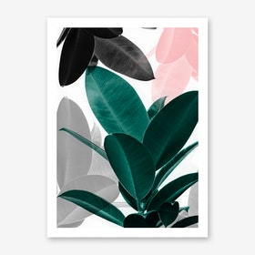 Leaf Play Art Print