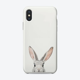 Peekaboo Bunny iPhone Case