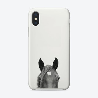 Peeking Horse iPhone Case