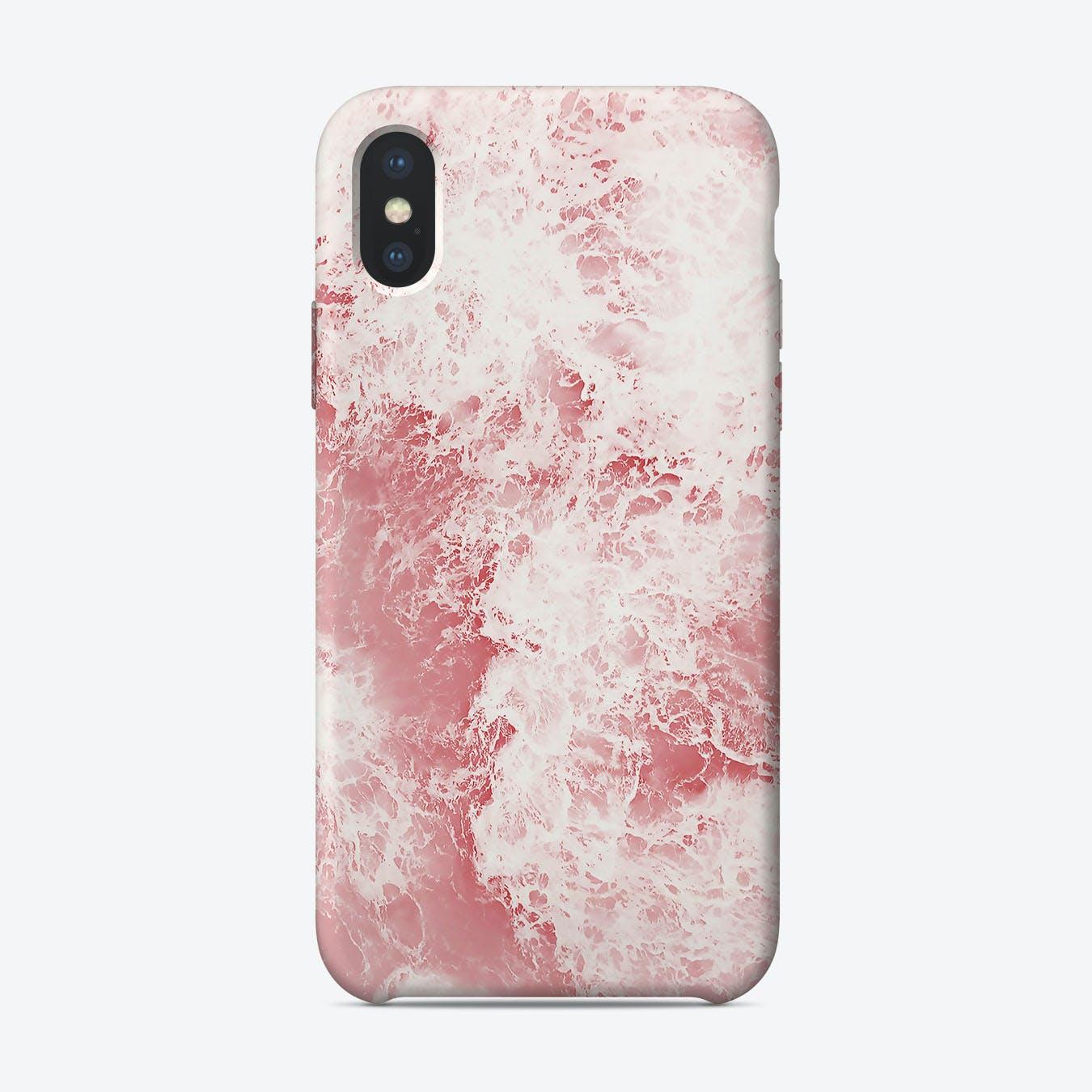 Pink Ocean II iPhone Case