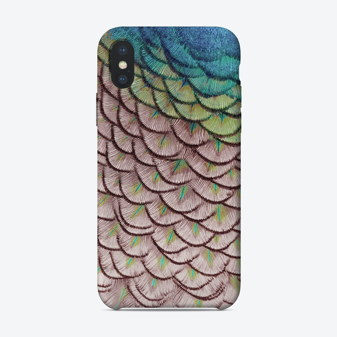 Pink Peacock iPhone Case