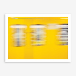 Berlin Yellow Art Print
