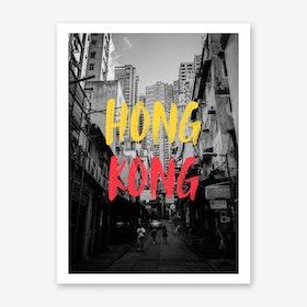 Hong Kong 2049 Art Print