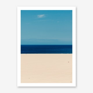 Sky Ocean Beach Art Print