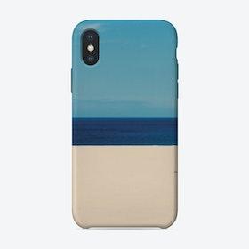 Sky Ocean Beach iPhone Case