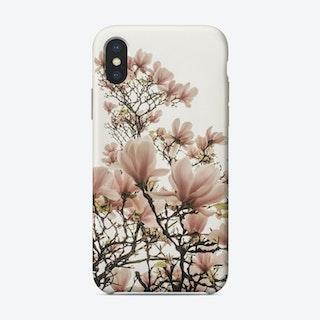 December Magnolia iPhone Case