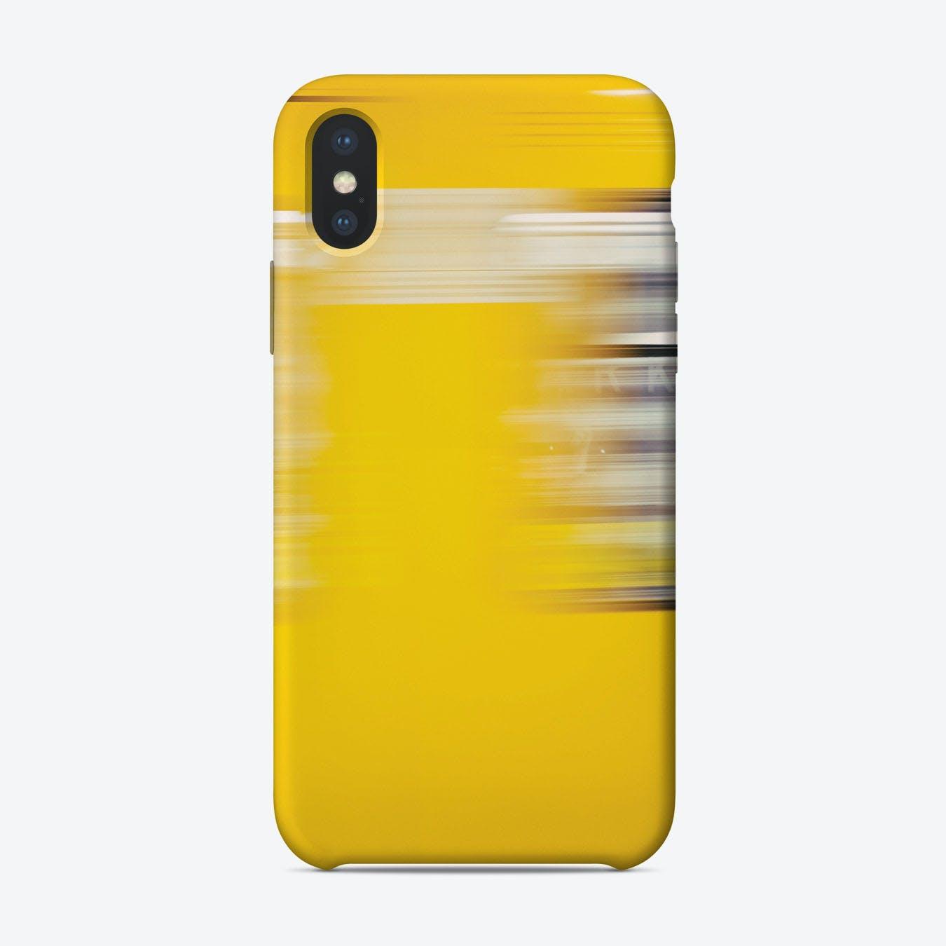 Berlin Yellow iPhone Case