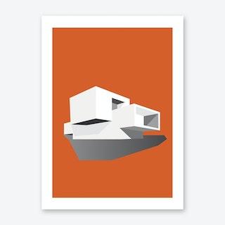 Modernist House One Art Print