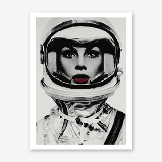 Faster Than An Astronaut Art Print