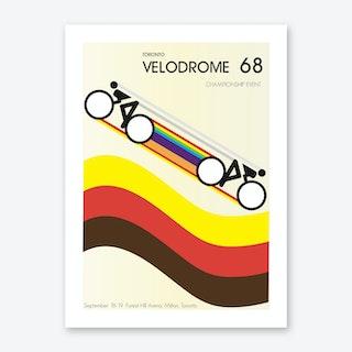 Velodrome 68 Art Print