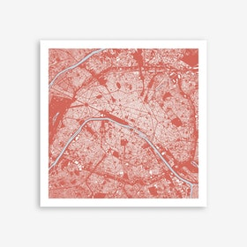 Paris in Pink Art Print