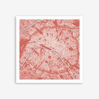 Paris in Pink Art Print