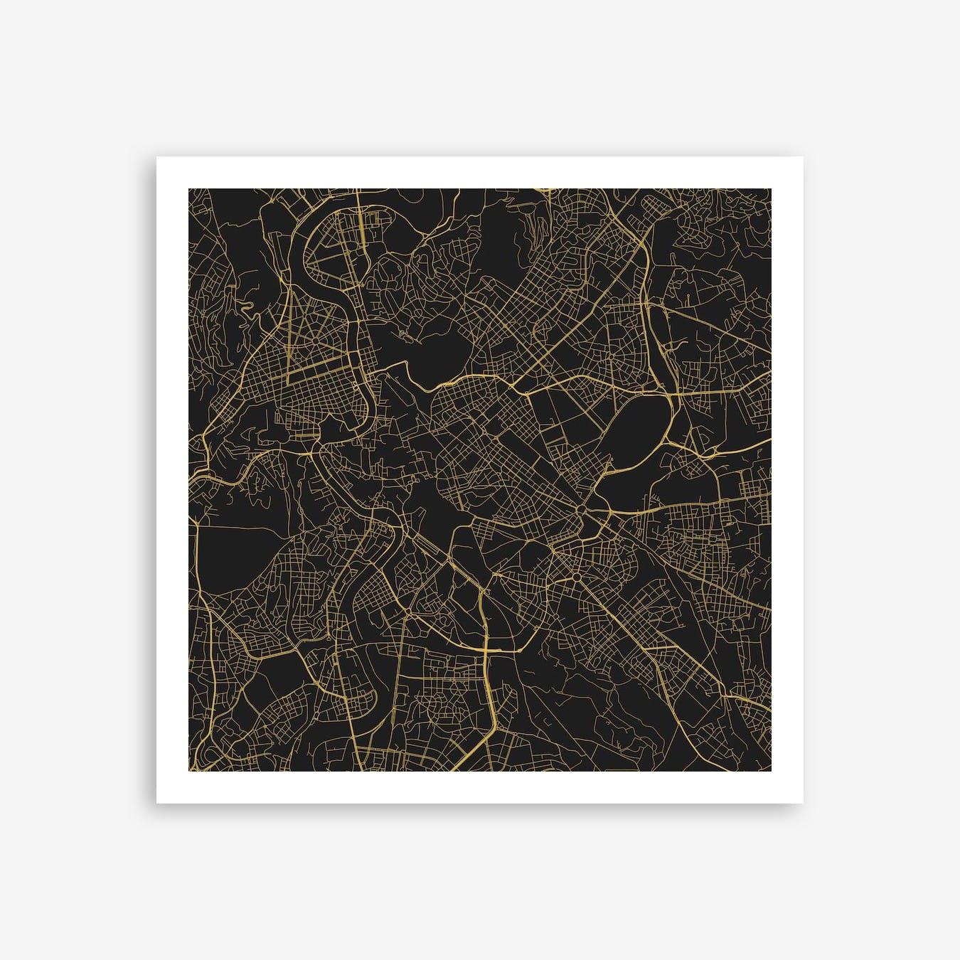 Rome in Yellow (Traffic)