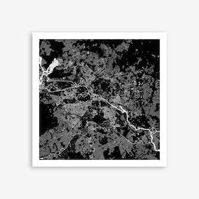 Berlin in Black Art Print