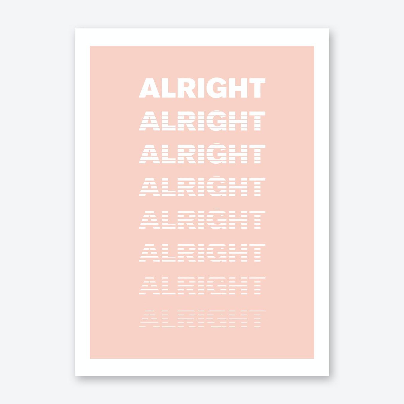 Alright, Alright, Alright - Peach (X Us Berlin)