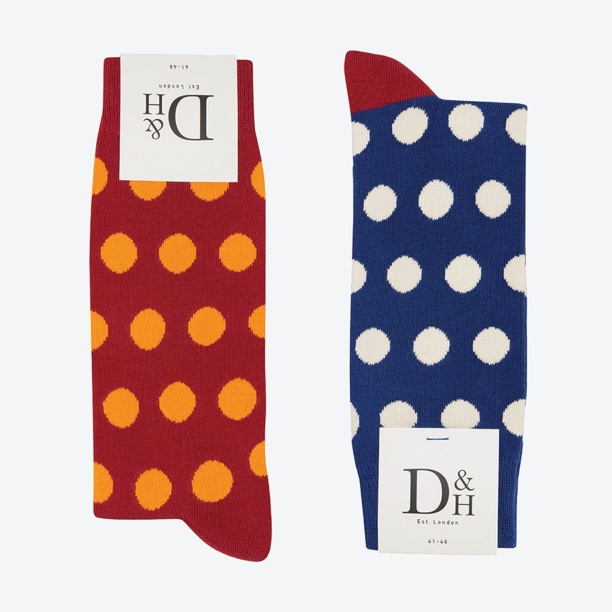 Blue & Red spot 2 Pack (41)