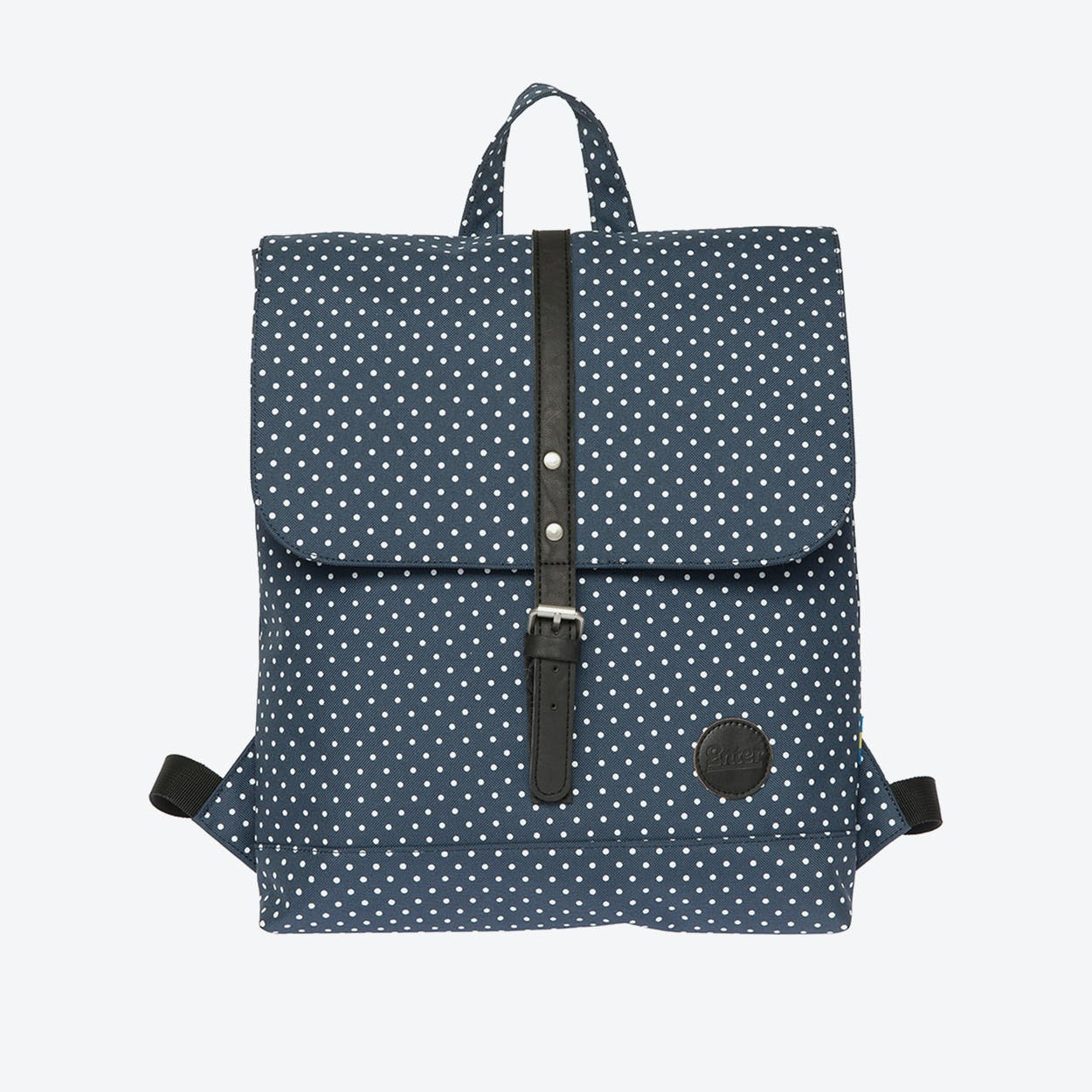 Backpack Mini - Navy/White Polkadot
