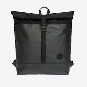 Research Roll Top Backpack - Black
