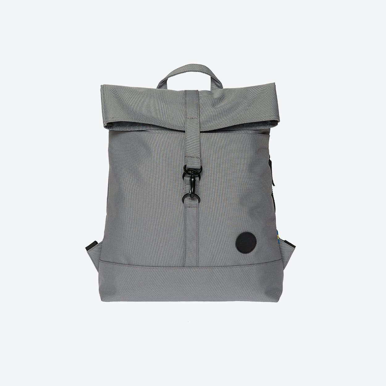 City Fold Top Backpack in Grey