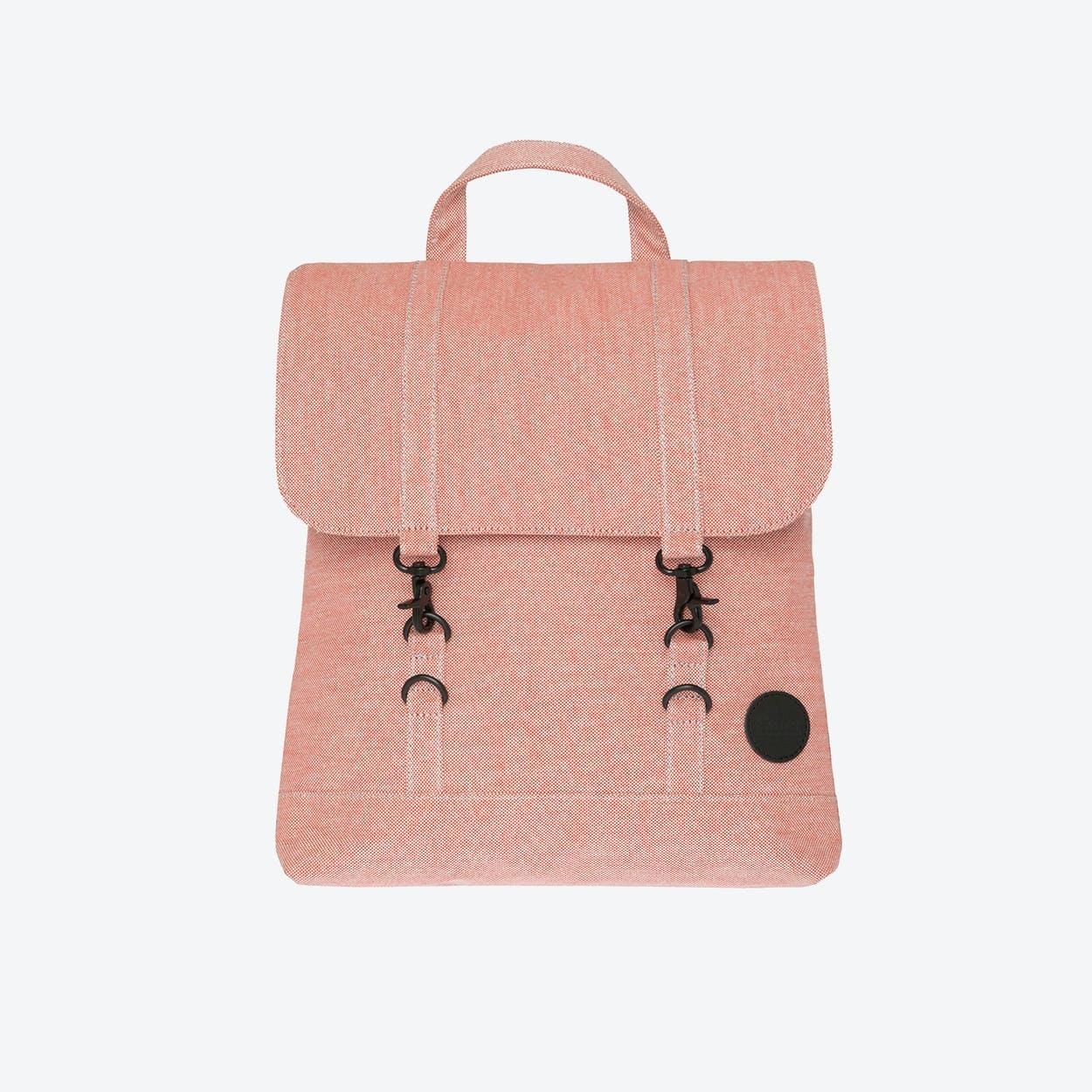 City Backpack Mini in Melange Red