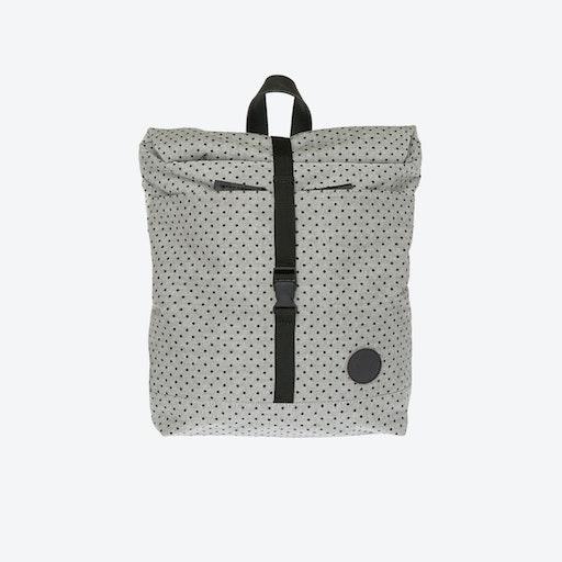 LS Roll Top Backpack Mini in Melange Black