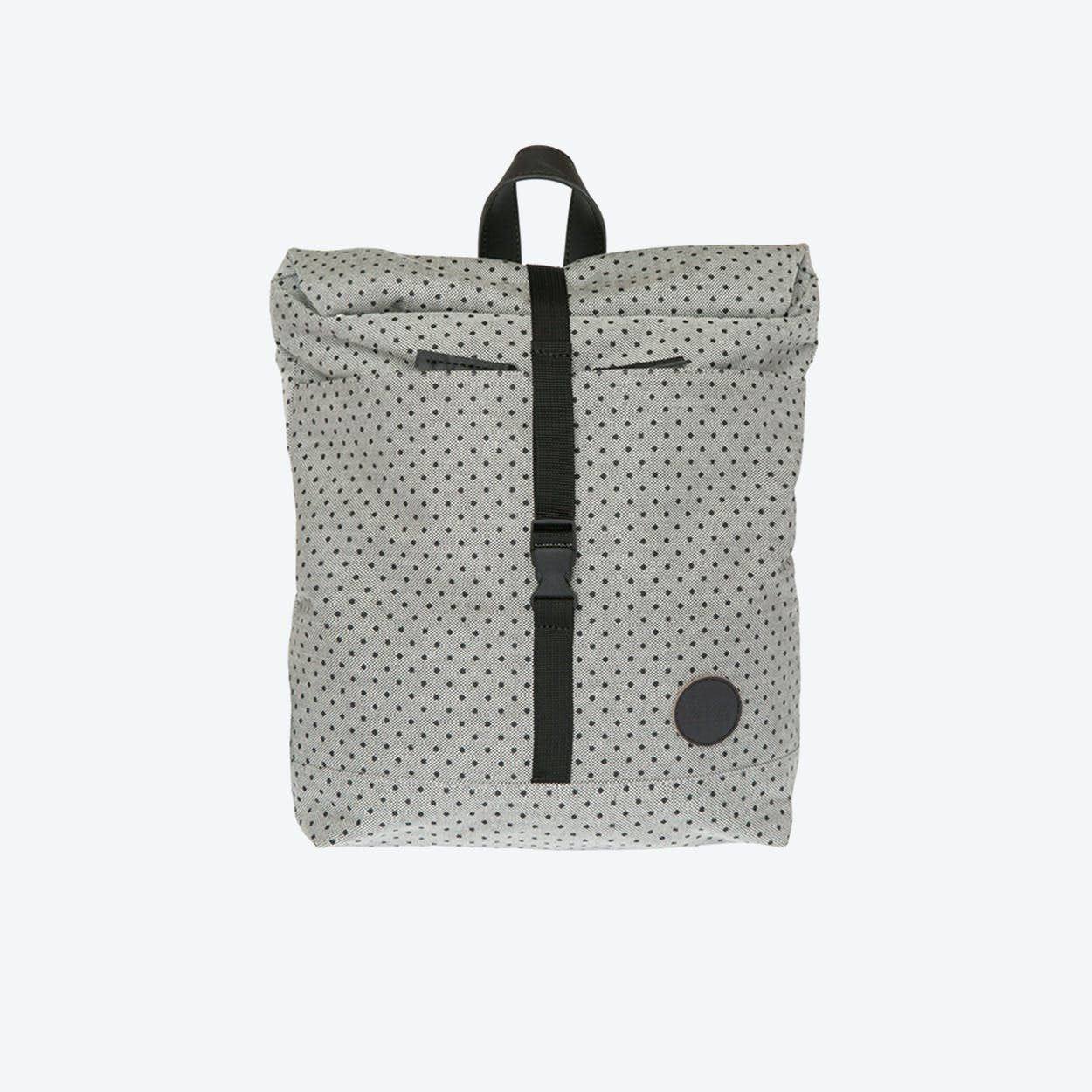 LS Roll Top Backpack Mini in Melange Black